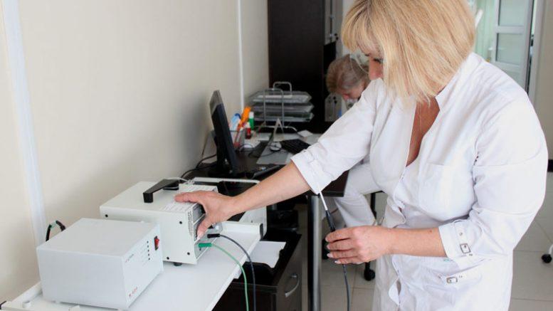 радиоволновая хирургия аппарат Сургитрон в санатории Металлург Сочи